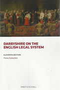 Cover of Darbyshire on the English Legal System
