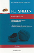Cover of Nutshells Criminal Law