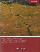 Cover of Megarry's Manual of the Law of Real Property