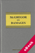 Cover of McGregor on Damages (eBook)