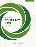 Cover of Contract Law: The Fundamentals