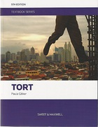 Cover of Tort Textbook