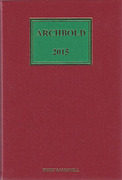Cover of Archbold: Criminal Pleading, Evidence and Practice 2015