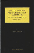 Cover of Gas and LNG Sales and Transportation Agreements: Principles and Practice