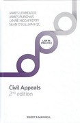 Cover of Civil Appeals: Principle and Procedure