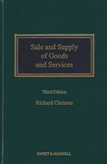 Cover of Sale and Supply of Goods and Services