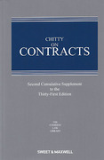 Cover of Chitty on Contracts 31st ed: 2nd Supplement