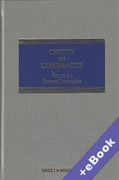 Cover of Chitty on Contracts 31st ed: Volume 1 (General Principles) with 2nd Supplement (Book & eBook Pack)