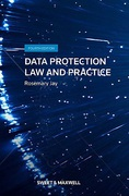 Cover of Data Protection: Law and Practice 4th ed with 1st Supplement