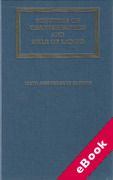 Cover of Scrutton on Charterparties and Bills of Lading 22nd ed with 2nd Supplement (eBook)