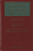 Cover of Wilkinson's Road Traffic Offences 26th with 2nd Supplement