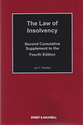 Cover of The Law of Insolvency 4th ed: 2nd Supplement