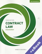 Cover of Contract Law: The Fundamentals (Book & eBook Pack)