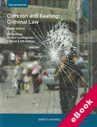 Cover of Clarkson and Keating: Criminal Law: Text and Materials (eBook)