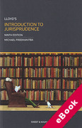 Cover of Lloyd's Introduction to Jurisprudence (eBook)