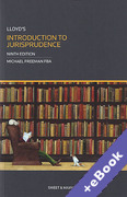 Cover of Lloyd's Introduction to Jurisprudence (Book & eBook Pack)