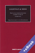 Cover of Lightman & Moss: Law of Receivers and Administrators of Companies 5th ed: 3rd Supplement (Book & eBook Pack)