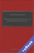 Cover of Lightman & Moss: Law of Receivers and Administrators of Companies 5th ed with 3rd Supplement (Book & eBook Pack)