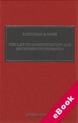 Cover of Lightman & Moss: Law of Receivers and Administrators of Companies 5th ed with 3rd Supplement (eBook)