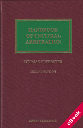 Wildy sons ltd the worlds legal bookshop search results for handbook of uncitral arbitration commentary precedents and models for uncitral based arbitration rules 2nd ed ebook fandeluxe Images