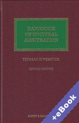 Cover of Handbook of UNCITRAL Arbitration: Commentary, Precedents and Models for UNCITRAL Based Arbitration Rules (Book & eBook Pack)