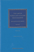 Cover of The Law of Public and Utilities Procurement 3rd ed: Volume 1