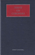 Cover of Jervis on Coroners