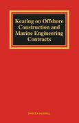 Cover of Keating on Offshore Construction and Marine Engineering Contracts
