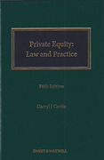 Cover of Private Equity: Law and Practice