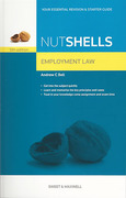 Cover of Nutshells Employment Law