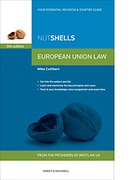 Cover of Nutshells European Union Law