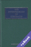 Cover of The Interpretation of Contracts (Book & eBook Pack)