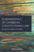 Cover of Fundamentals of Caribbean Constitutional Law