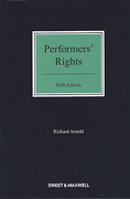 Cover of Performers' Rights