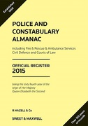 Cover of Police and Constabulary Almanac: Official Register 2015
