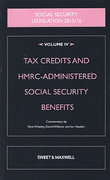 Cover of Social Security Legislation 2015/16 Volume IV: Tax Credits and HMRC-Administered Social Security Benefits
