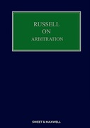 Cover of Russell on Arbitration