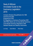 Cover of Sealy & Milman: Annotated Guide to the Insolvency Legislation 2015: Volume 2 (Book & eBook Pack)