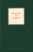 Cover of Boundaries and Easements