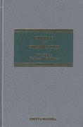 Cover of Chitty on Contracts 32nd ed: Volume 1 General Principles