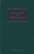Cover of MacGillivray on Insurance Law: Relating to all Risks Other than Marine