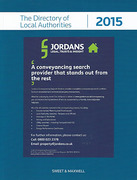 Cover of The Directory of Local Authorities 2015
