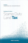 Cover of Stamp Duty Land Tax with The Autumn Statement Supplement
