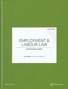 Cover of Employment and Labour Law: International Series