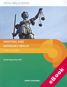 Cover of Mooting and Advocacy Skills (eBook)