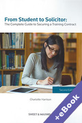 Cover of From Student to Solicitor: The Complete Guide to Securing a Training Contract (Book & eBook Pack)