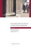 Cover of Declarations of Trust: A Drafting Handbook
