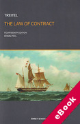 Cover of Treitel: The Law of Contract (eBook)
