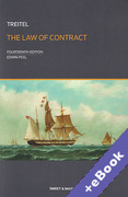 Cover of Treitel: The Law of Contract (Book & eBook Pack)