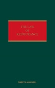 Cover of The Law of Reinsurance in England and Bermuda